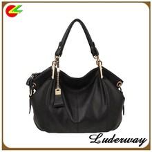 Good quality fashion design lady hand bag shoulder bag manufactures