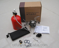 Outdoor portable petrol gas camping multi fuel stove camping oil stove