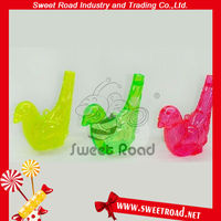 Plastic 3 Color Bird Toy Candy