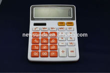 Desktop calculator gfit stationery medium size plastic 12 digits calculator