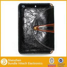 for ipad mini 360 cases. PU leather cover rotating cover for ipad mini