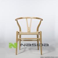 CH131 solid wood ash Hans J Wegner Y Chair Wishbone Chair