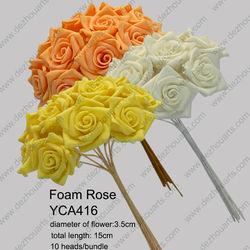 2880pcs foam rose diameter 3.5cm YCA416 EVA rose for wedding decoration