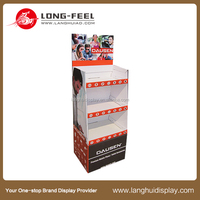 china supplier custom business card cardboard display