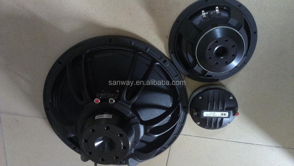 La-315 double 15 '' Pro ligne gamme haut - parleur