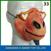 X-MERRY Wearing Heat-shaped Glasses Cow Animal Lower Half Face Mask Special Costume Mask Halloween Latex Mask