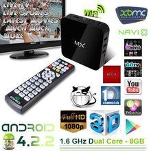 OEM/ODM MX2 Tv Box Android Smart Tv Box Quad Core Amlogic MX Android Tv Box