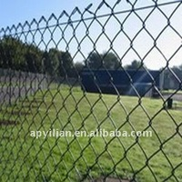 cheap wrought iron galvanized chain link fence wire mesh for sale