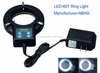 LED-72T 72pcs LED ring light for microscope / microscope illuminator , microscope ring light, industrial ring light