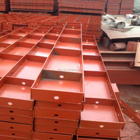 TSX Manufactured Heavy Duty Formwork Steel Panels Square Corner Forms