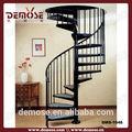 De hierro forjado escalera de caracol/escalera de hierro forjado pasamanos