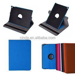 Rotating Stand Case For iPad Air 2 II iPad6 Hard Skin Cover Bag with Hand-belt
