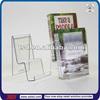 TSD-A222 Good price acrylic tabletop book rack/acrylic double tier book display stand /acrylic book display