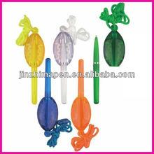 promotional cord pen hanging ball pen