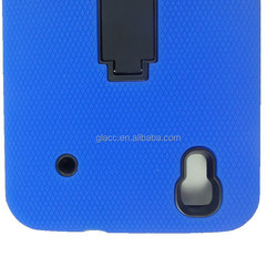 Mobile accessories Silicon PC Combo stand Case for ZTE N9520 Boost Max/N9521