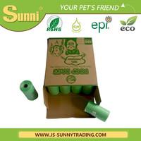 2015 factory new design pet product custom plastic poop bag for dogs