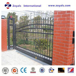 2015 The most popular gate: sliding gate designs for homes curved sliding gate