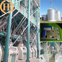 Full Automatic Corn Flour Mill With European Standard