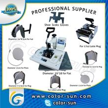 Combo heat press machine (4in1 5in1 6in1 7in1 8in1 9in1 10in1)