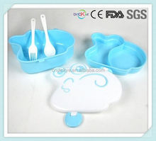 Eco friendly plastic food container with air holes microwave safe sunrise lunch bento box