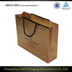 Best Quality Packaging Manufacturer Custom Design Good Prices Gift Bag Personalized
