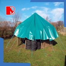 Field material cover, PVC tarpaulin Waterproof, flame retardant, wind