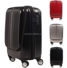 """20"""" inch ABS + PC zipper trolley case bag / luggage set / expandable flight case with laptop compartment"""