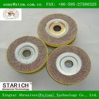 Abrasive grinding wheel for ferrous metal