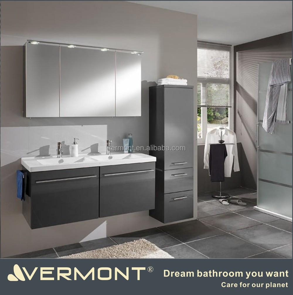 현대적인 가구 유럽 상업 회색 바닥 서 욕실 세면대-욕실 세상 ...