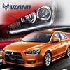 CE, Rohs, and 12V voltage Vland China wholesaler auto parts Japan cars automotive lamps lancer ex headlight