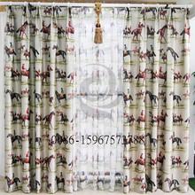 hotsale in 2014 popular luxury hotel window curtain