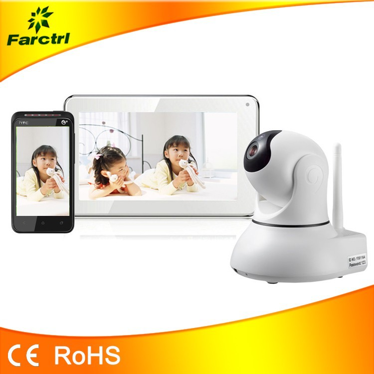 2015 best selling digital wireless audio and video baby camera monitor with w. Black Bedroom Furniture Sets. Home Design Ideas