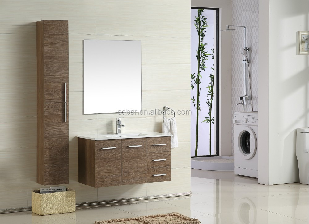 2015Cheap Bathroom Vanity MDF Bathroom Furniture MDF Bathroom Cabinet