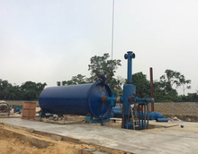 newest design waste rubber tyre recycling plant pp big bags recycling with high oil yield