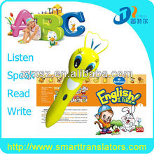 English talking pen book+with 6 books and digtal reading pen