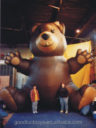 giant inflatable Brown Bear for advertising