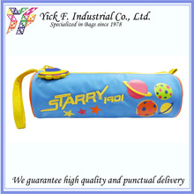 Planet Twill Nylon Round Kids Children Pencil Case / Pencil bag