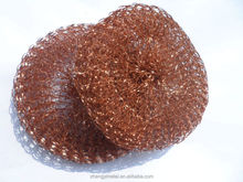metal mesh material products kitchen cleaning Copper Mesh Scourer