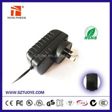Alibaba electronics CE,FCC safty reduction 13.5v ac dc adapter