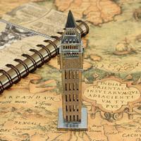 1pc 3D Metal Model Puzzle Toys 3D Model Building Kits Puzzle Solid Jigsaw Puzzle Scale Model Famous Building Big Ben