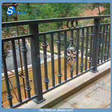 carbon steel iron galvanized and painting square pipe railing