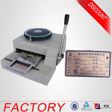 Dog Tag Manual Stamping Press