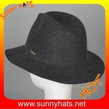 Winter wool felt womens hats wholesale from Dongguan factory