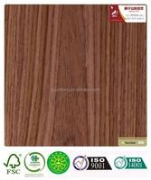 HPL engineered laminated compressed wood veneer walnut-518c paint free door plate