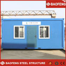 economic fast food container house