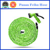as seen on tv magic hose shrinking brass fitting garden water hose with 8 function spray gun
