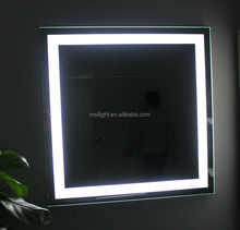 Modern Furniture Design Frosted Mirror,Square Mirror With Led Night Light