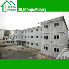 3 layers Morden prefab duplex Flatpack Container Office/ Workshop/ Dormitory buildings