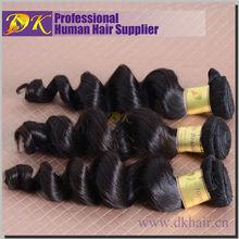 New arrival g7 hiar products human hair unprocessed loose wave virgin brazilian hair