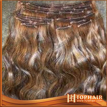 2014 fashional afro kinky ombre color 7A Brazilian 100% virgin hair very cheap human Ring Loop Hair Weft